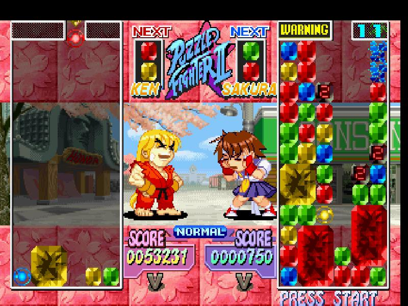 super puzzle fighter ii turbo ps1